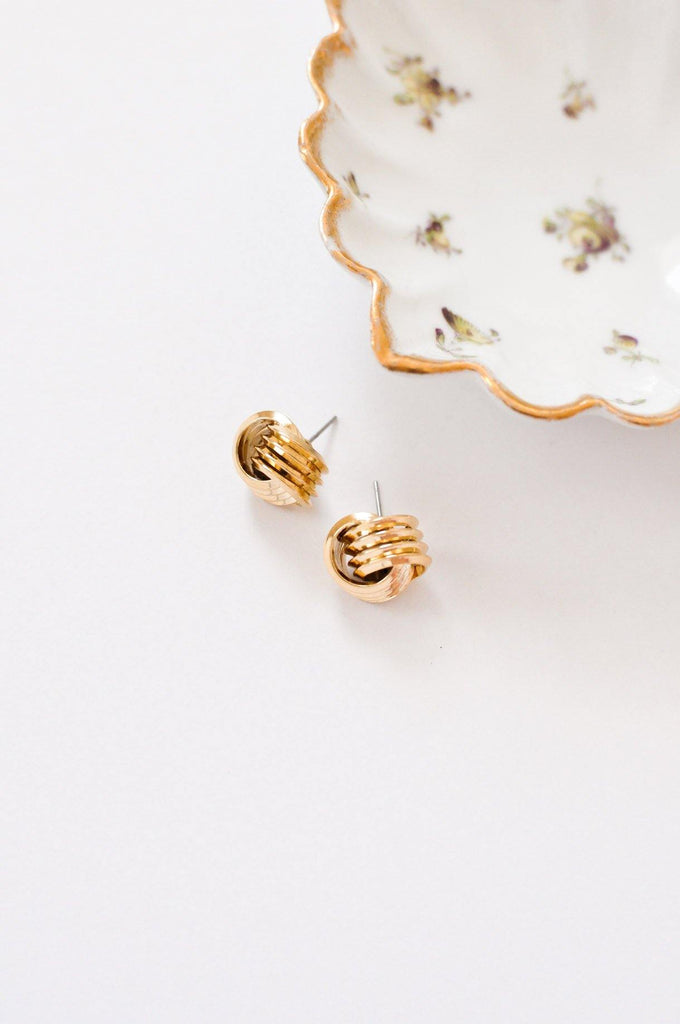Knot Pierced Earrings