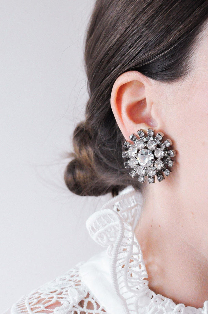 Statement Burst Clip-on Earrings