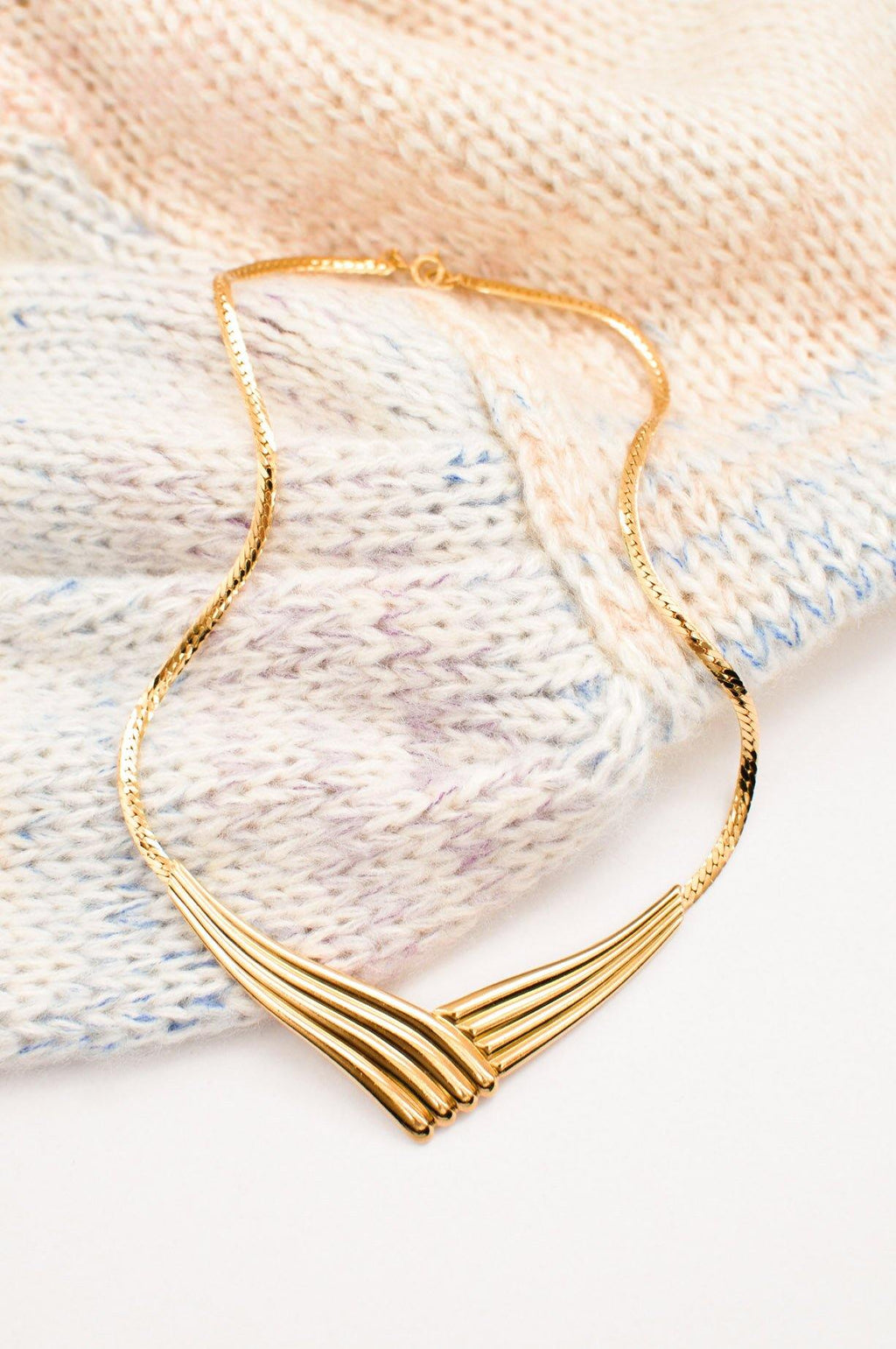 Swirl Statement Necklace
