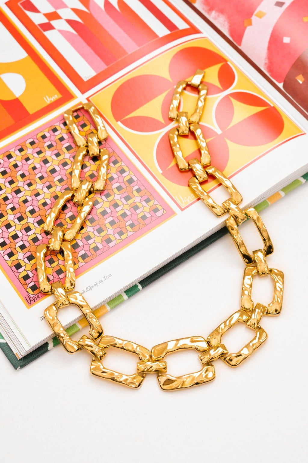 Open Link Statement Necklace