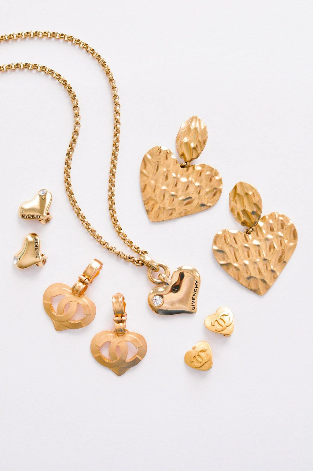 Givenchy Heart Pendant Necklace