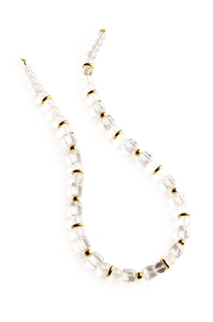 Lucite Beaded Necklace