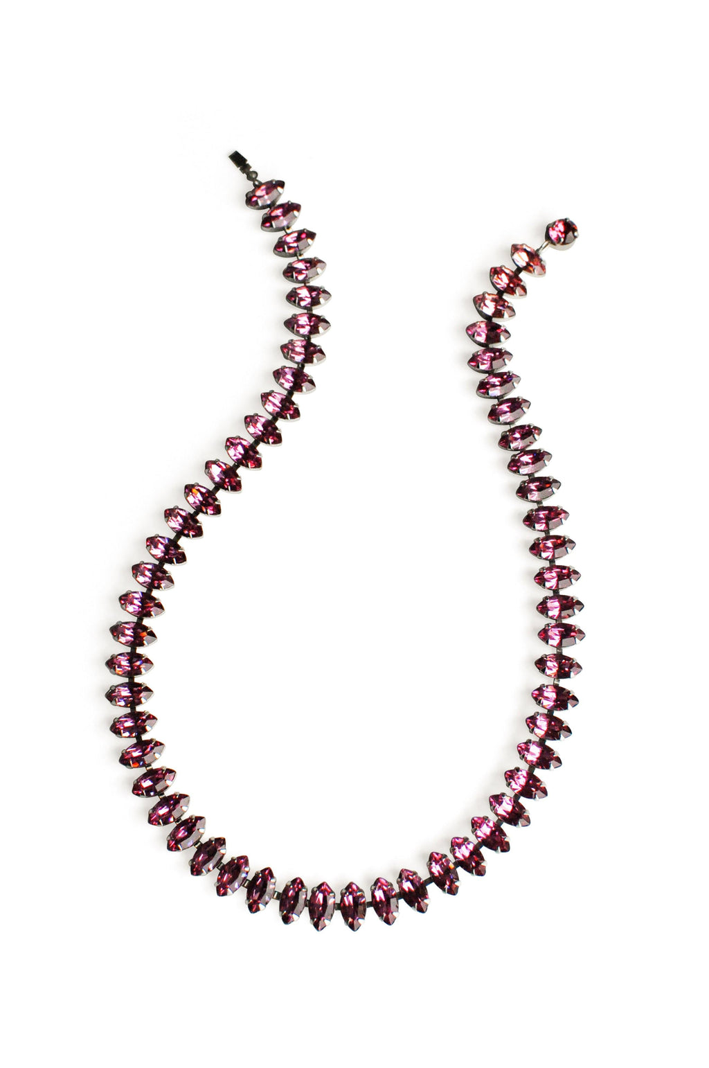 Pink Rhinestone Necklace