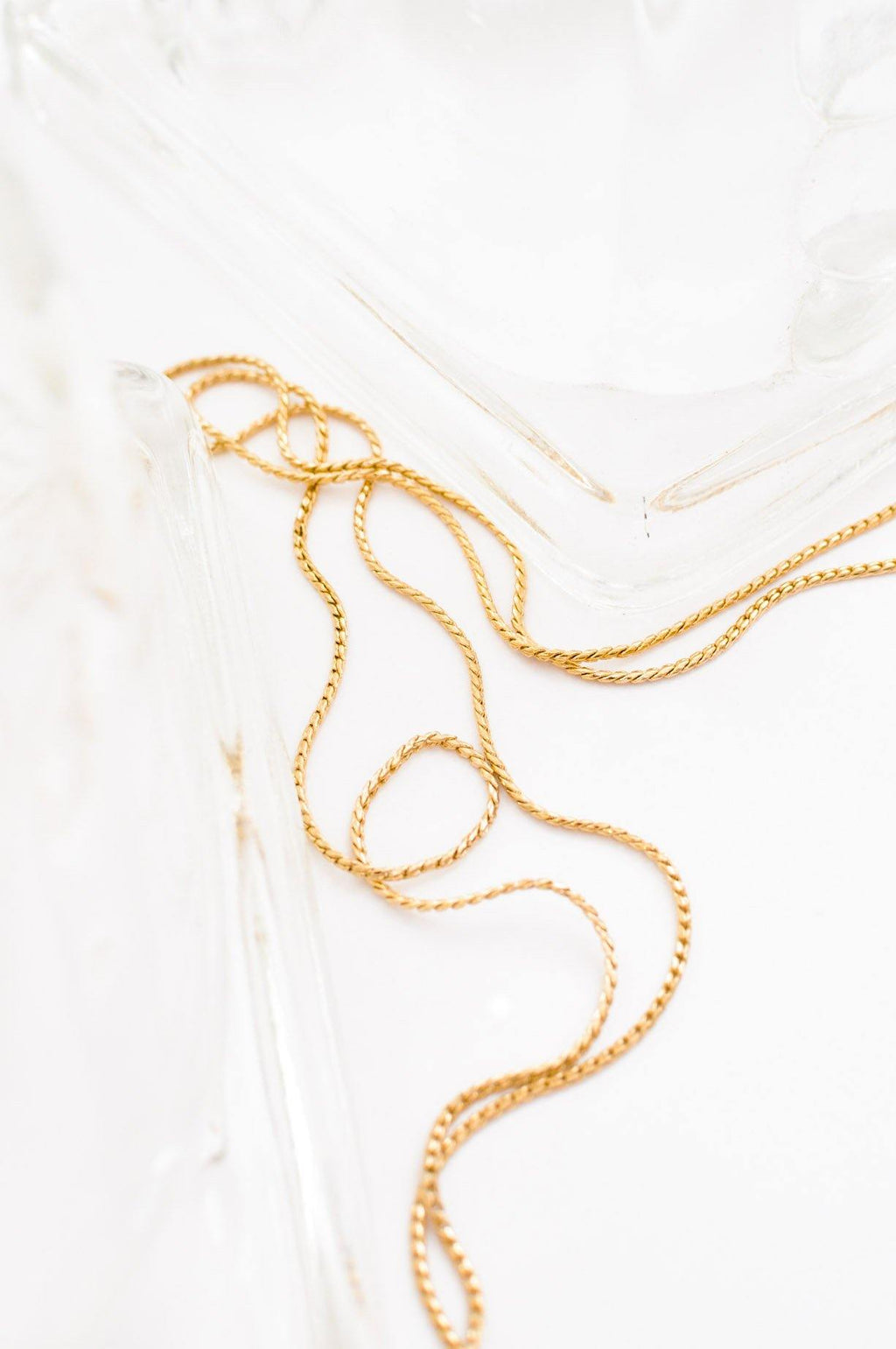 Dainty Flat Necklace