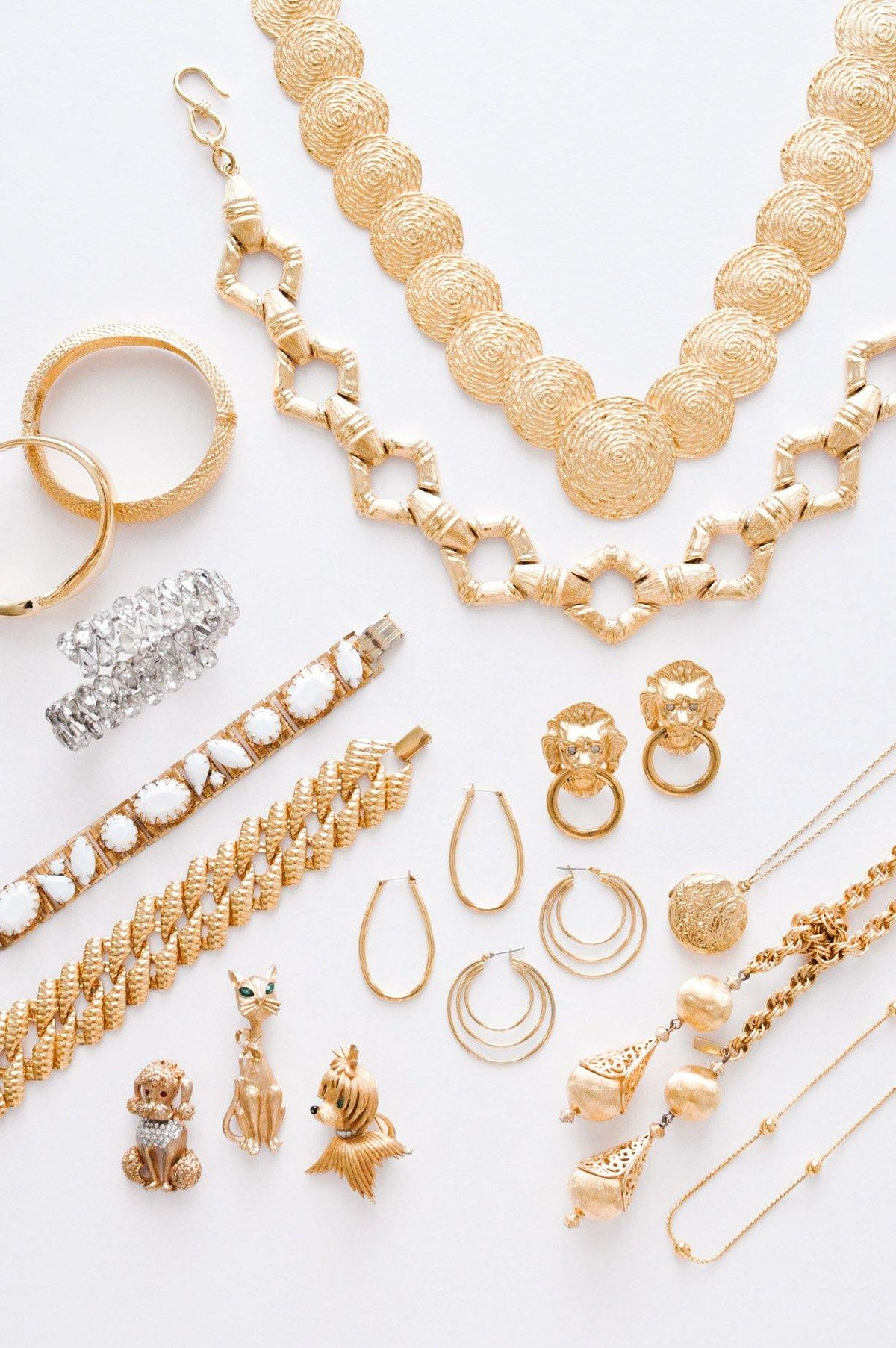 Vintage jewelry classics from Sweet & Spark.