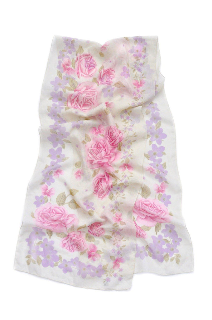 Florals Rectangle Scarf