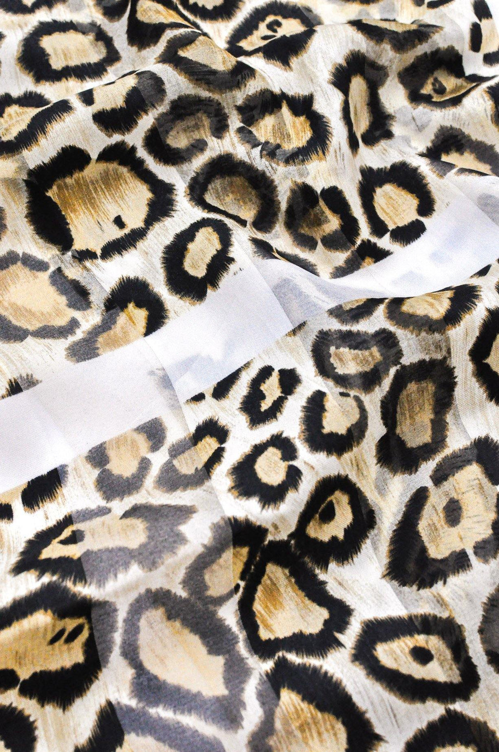 Leopard Rectangle Scarf