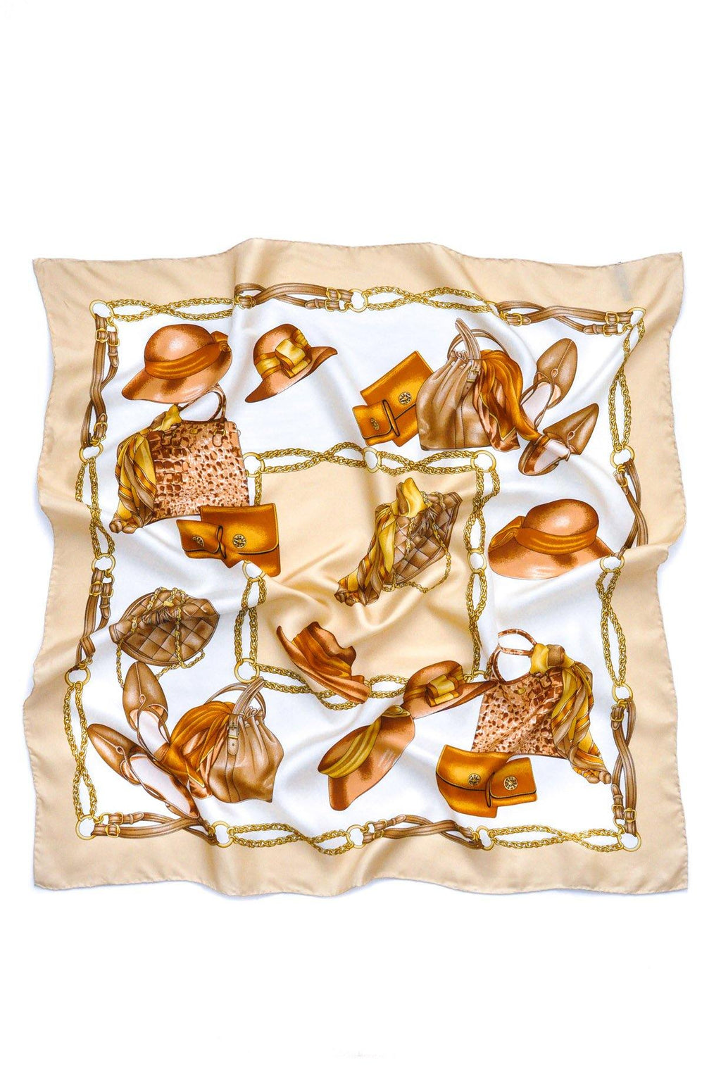 Classic French Silk Scarf