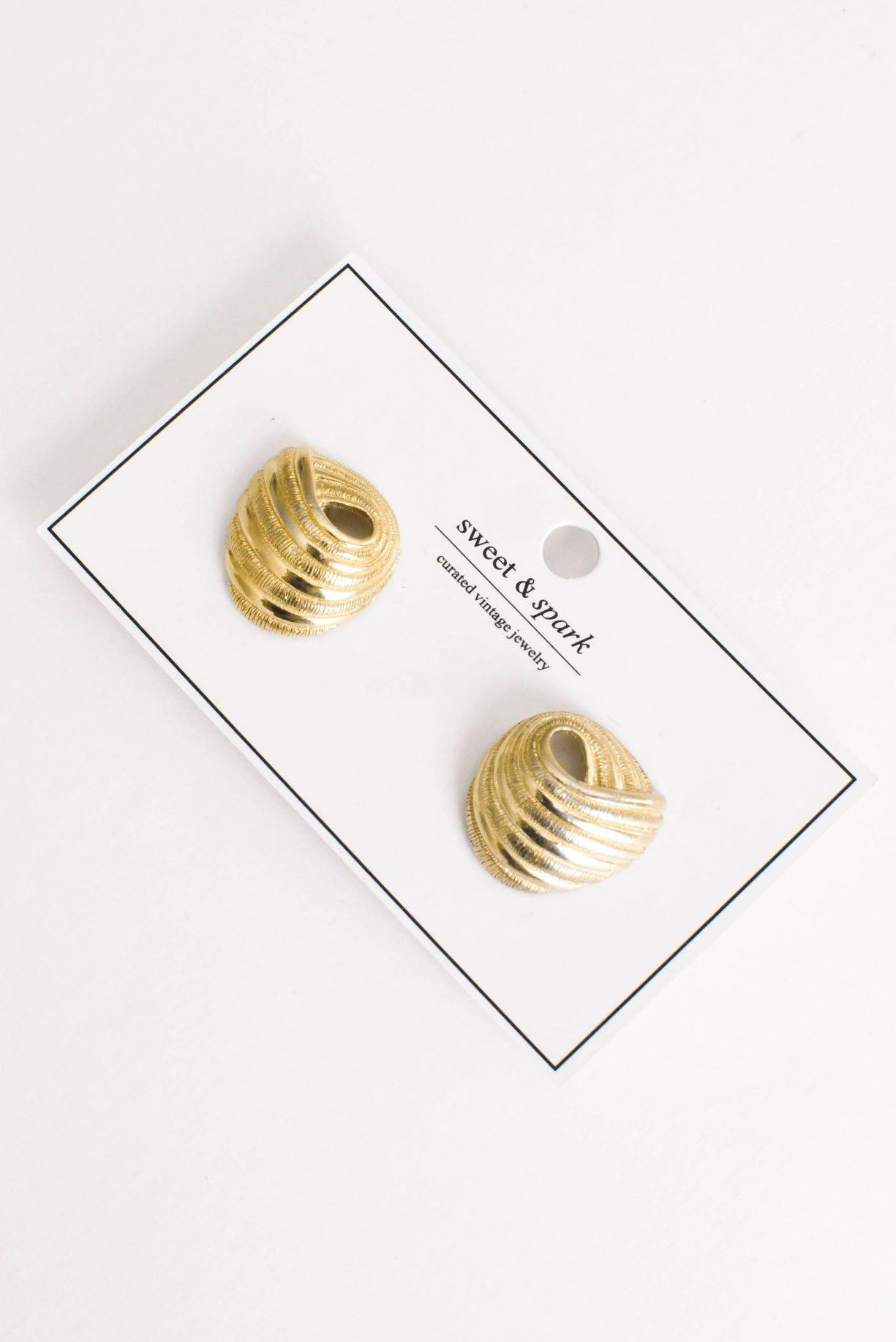 Loop Clip-On Earrings