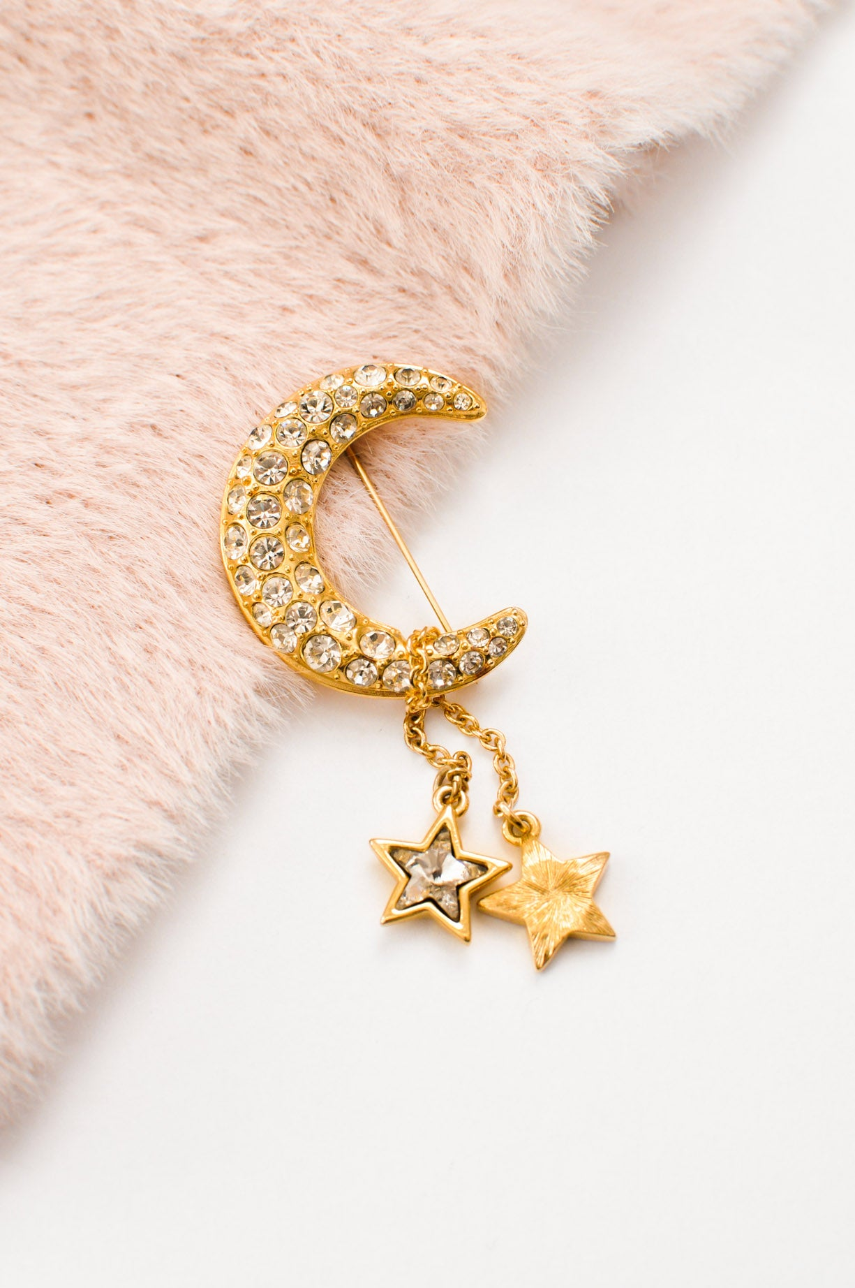 Moon & Stars Brooch