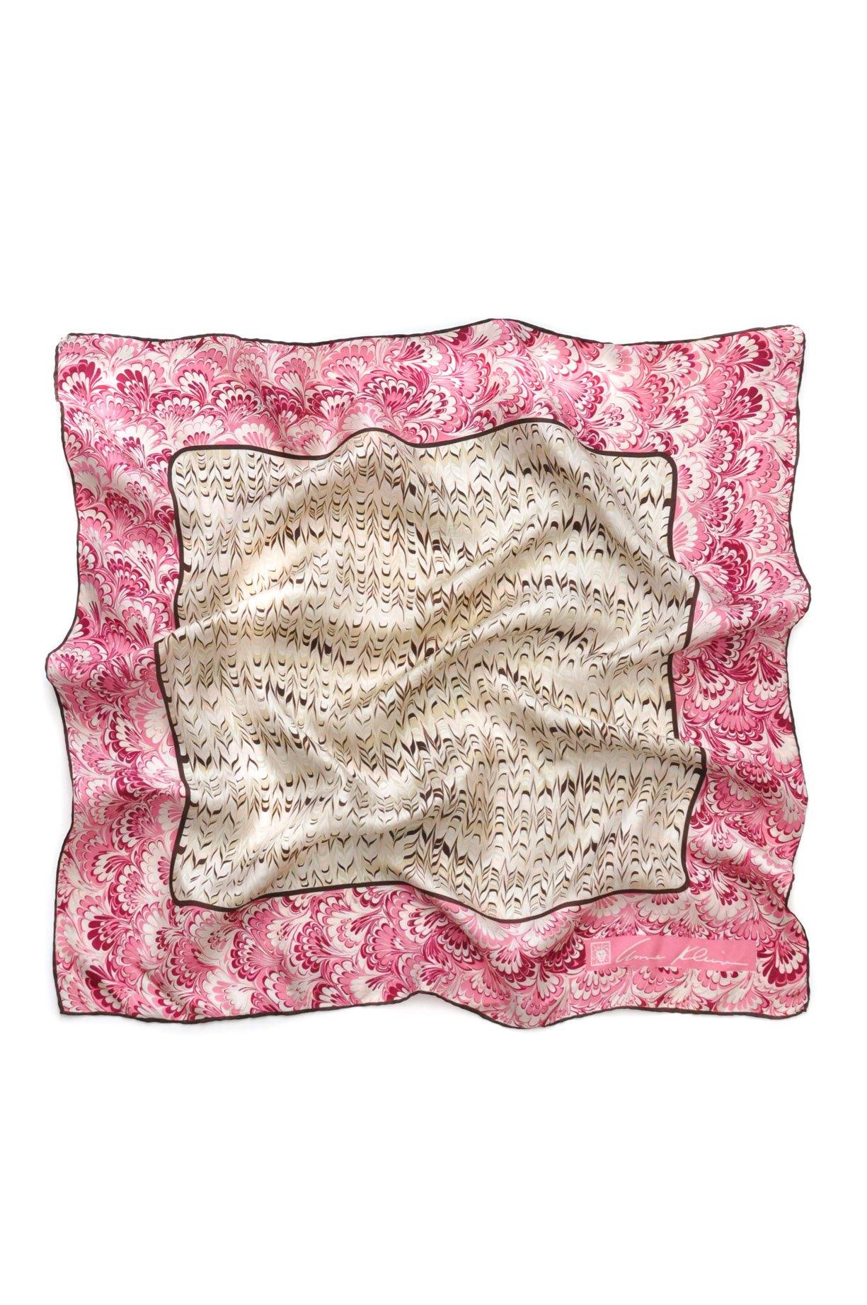 Pretty Painted Square Scarf