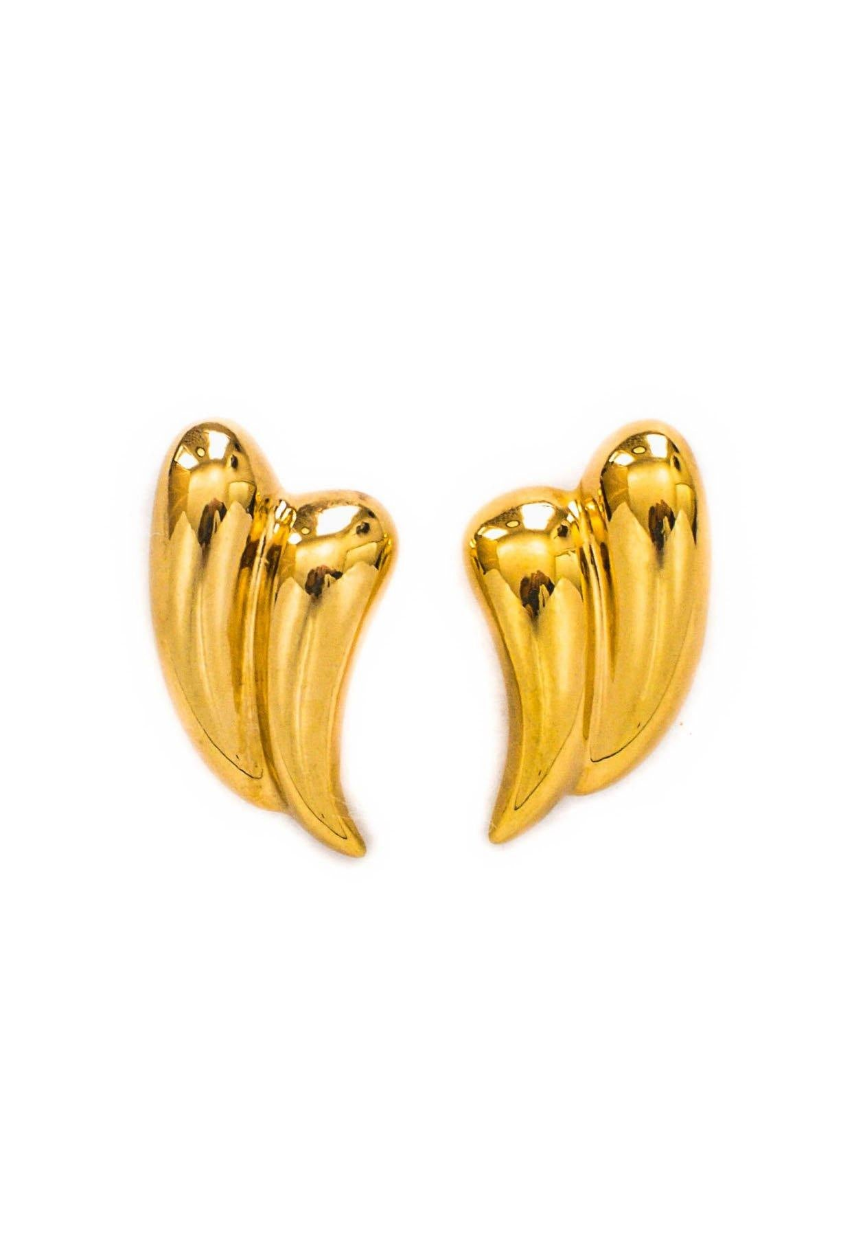 Vintage Swooping Pierced Earrings from Sweet and Spark
