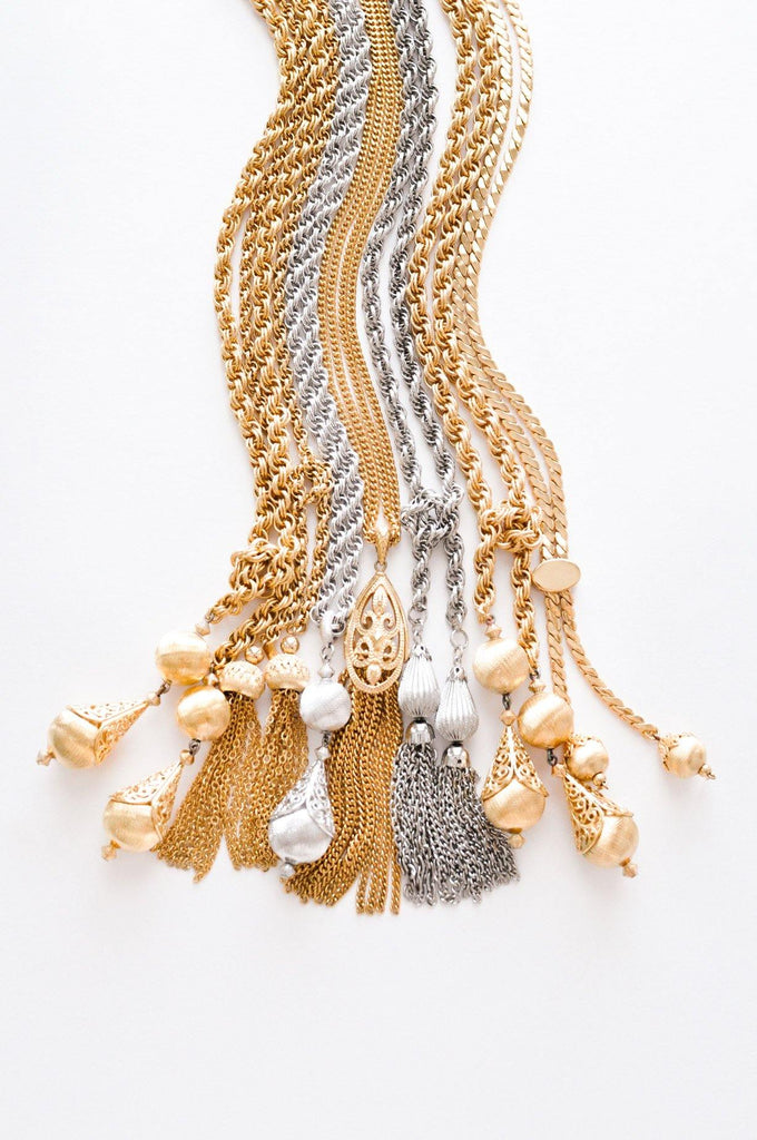 Lariat Tassel Necklace