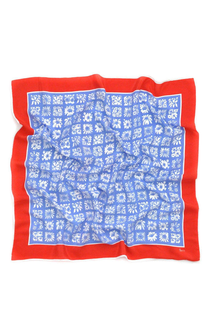 Red, White & Blue Square Scarf