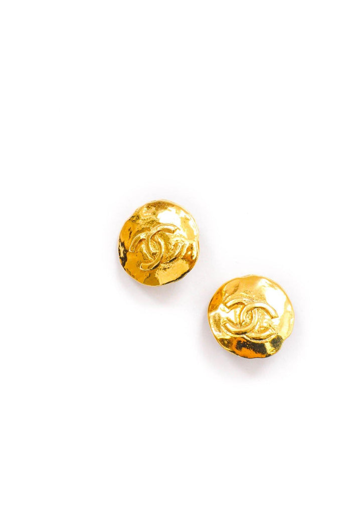 Chanel CC Coin Clip-on Earrings