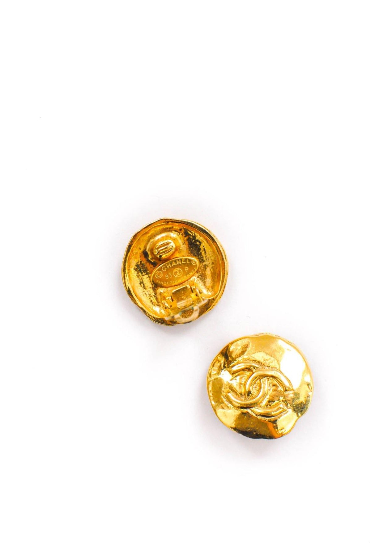 Vintage Chanel Coin Earrings from Sweet and Spark