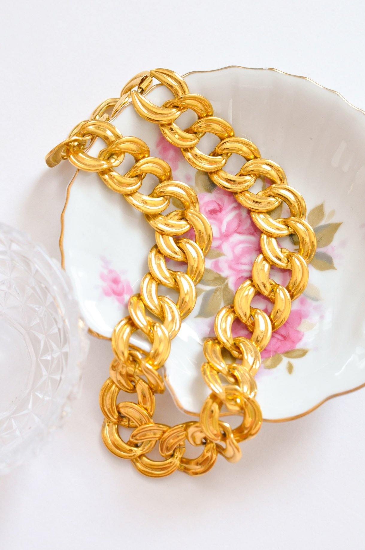Jumbo Flat Link Necklace