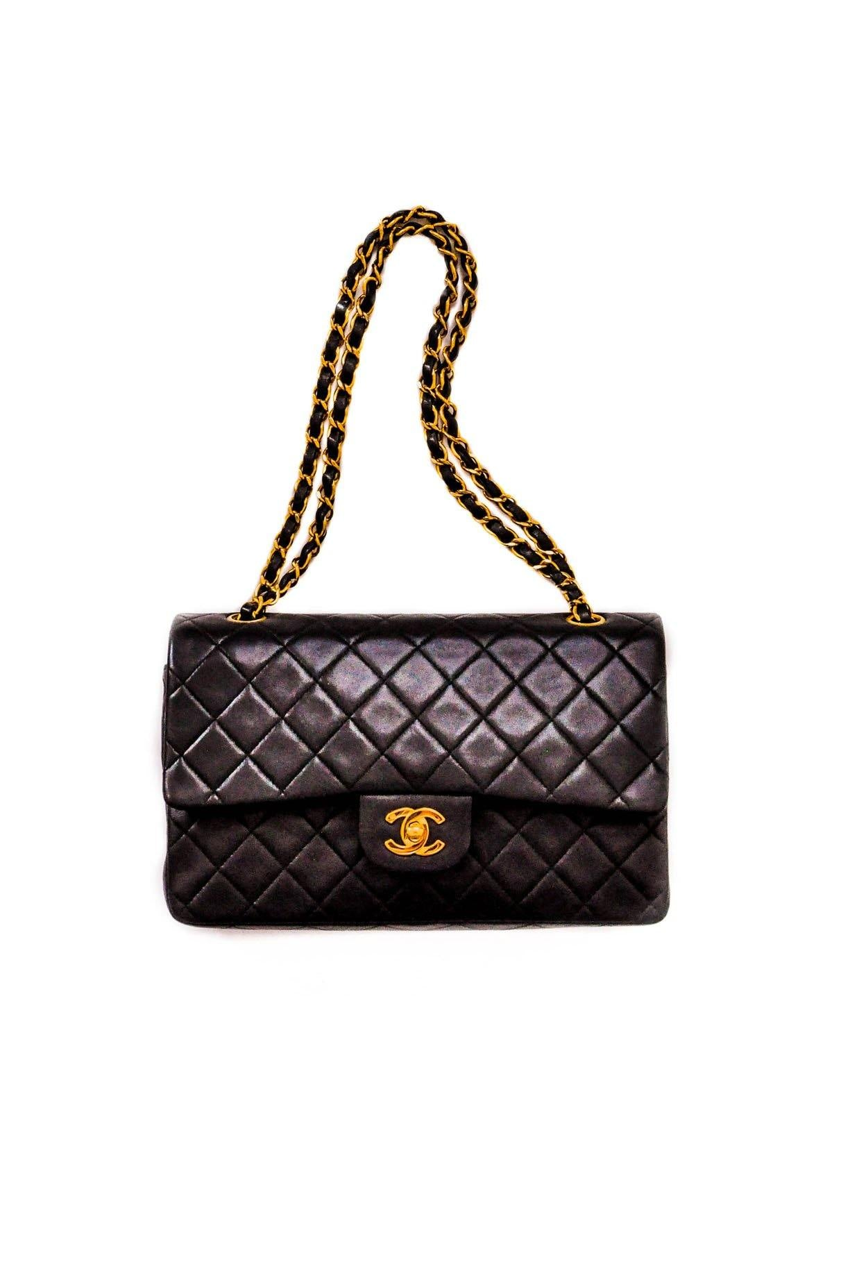 Vintage Chanel 2.55 Double Flap Bag from Sweet and Spark