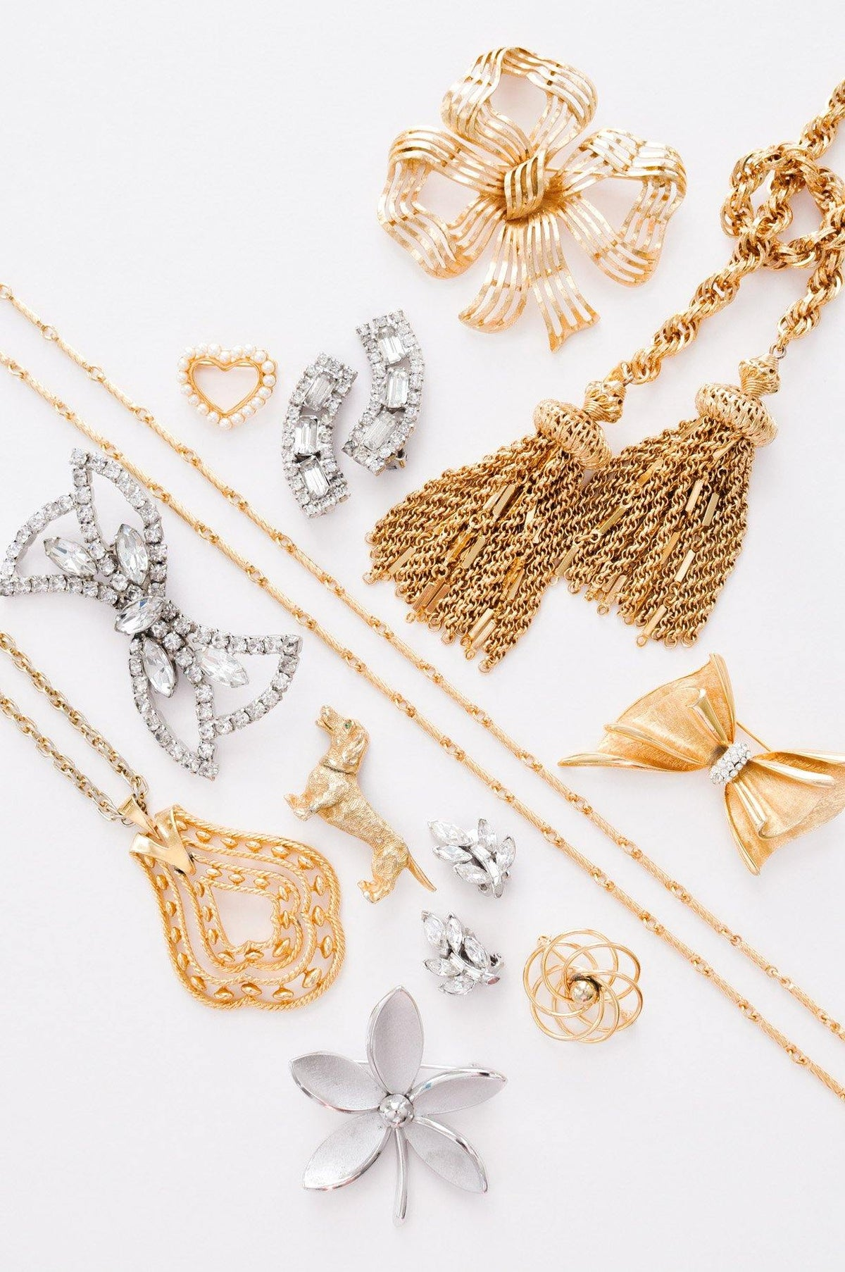 Vintage jewelry essentials from Sweet & Spark.