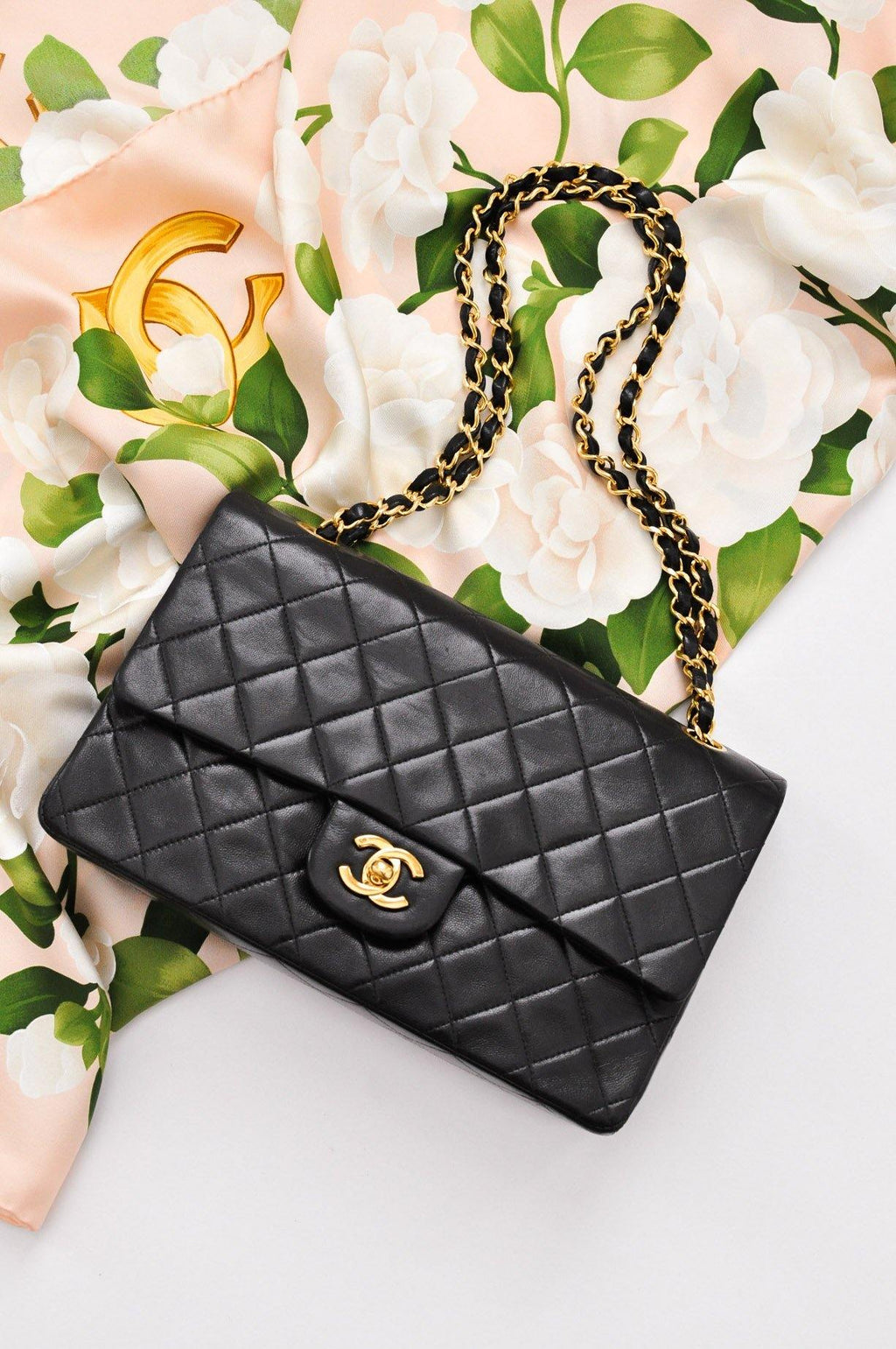 Chanel 2.55 Classic Black Flap Bag