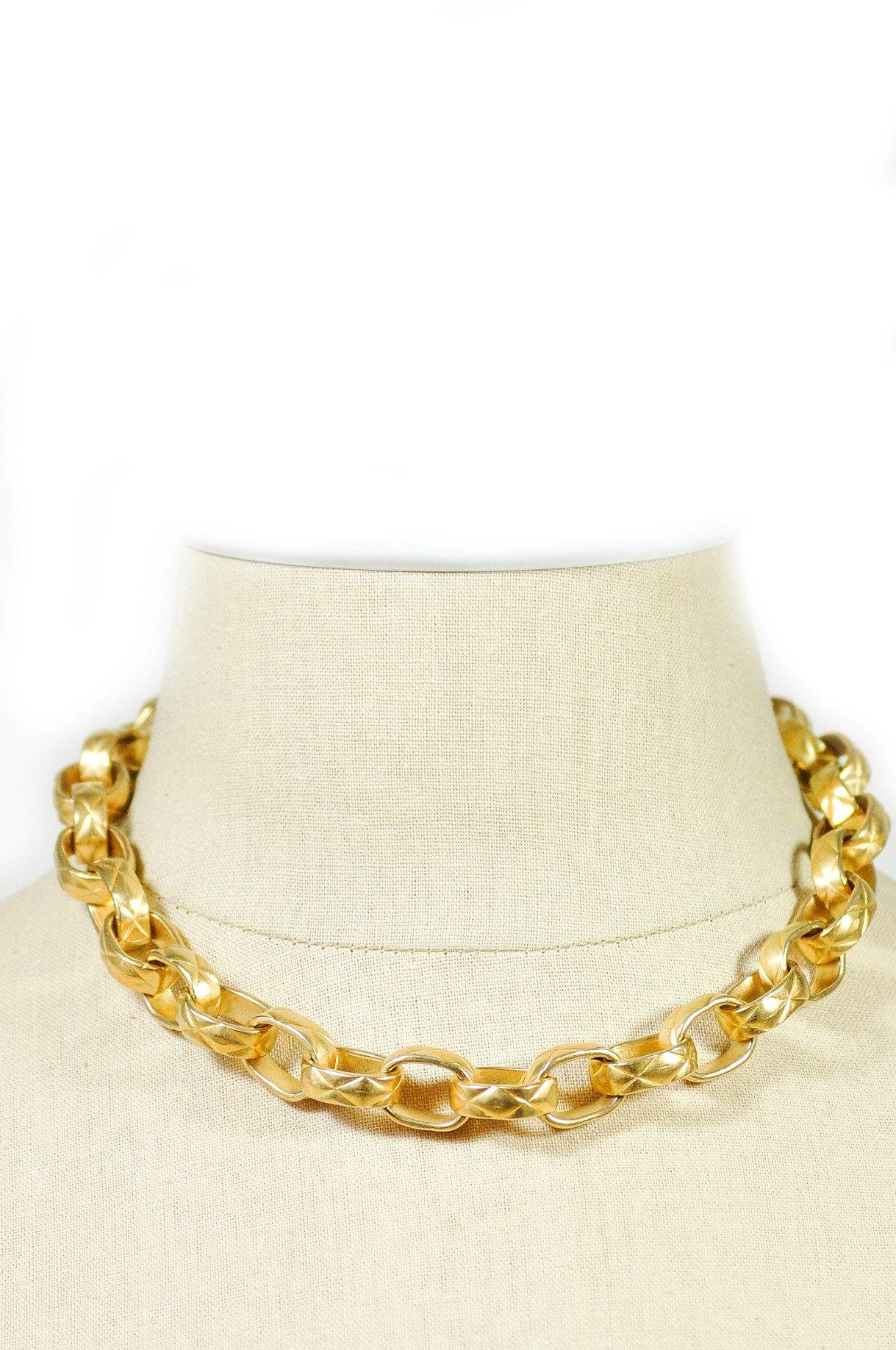 80's__Erwin Pearl__Chunky Chain Necklace