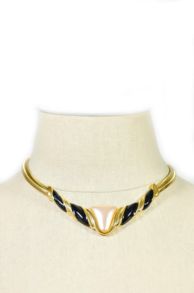 80's__Napier__Statement Choker Necklace