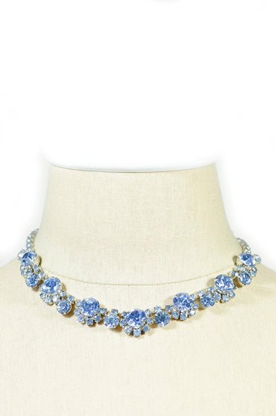 50's__Vintage__Statement Rhinestone Necklace