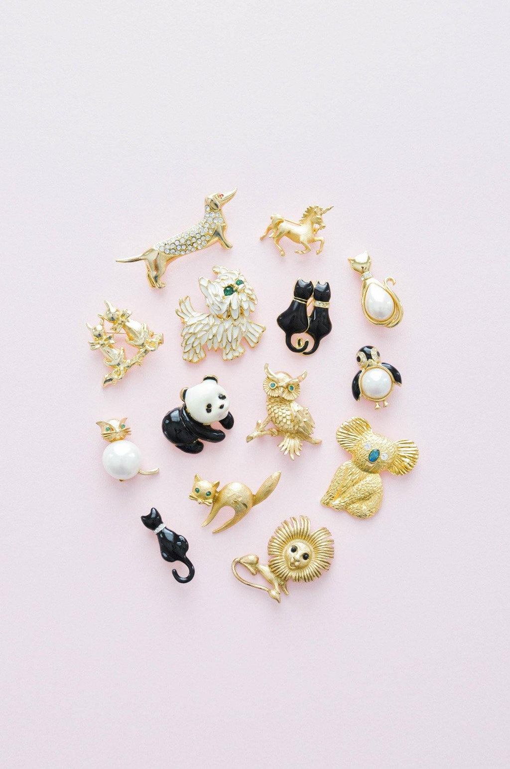 Mini Cat Brooch