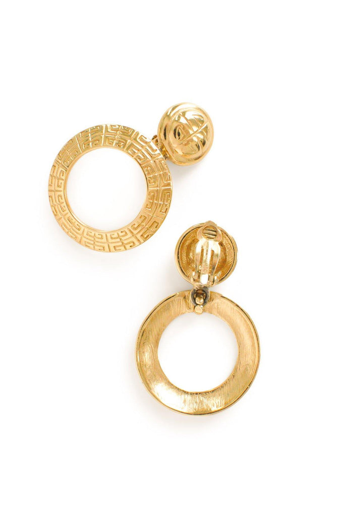 Givenchy Hoop Clip-on Earrings