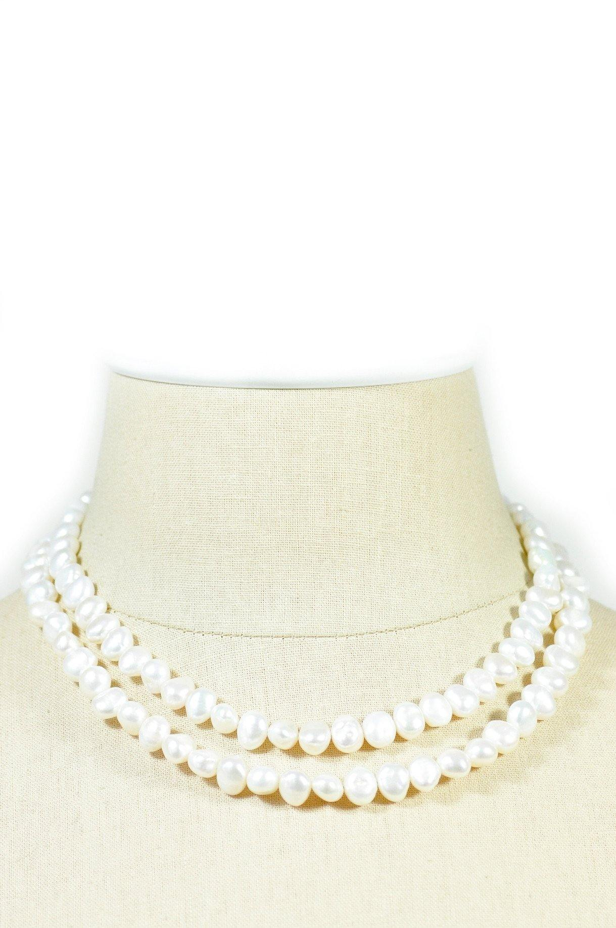80's__Vintage__Freshwater Pearl Necklace