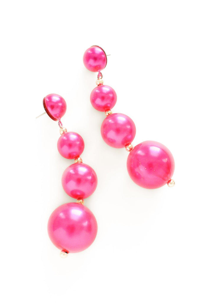 Pink Bon Bon Pierced Earrings