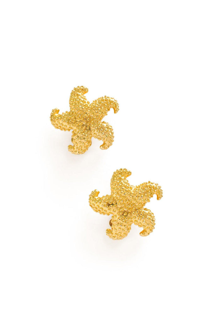 Starfish Clip-on Earrings