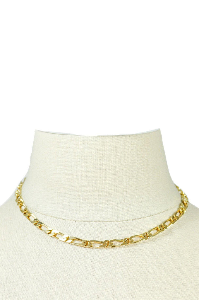 70s__Monet__Gold Chain Necklace