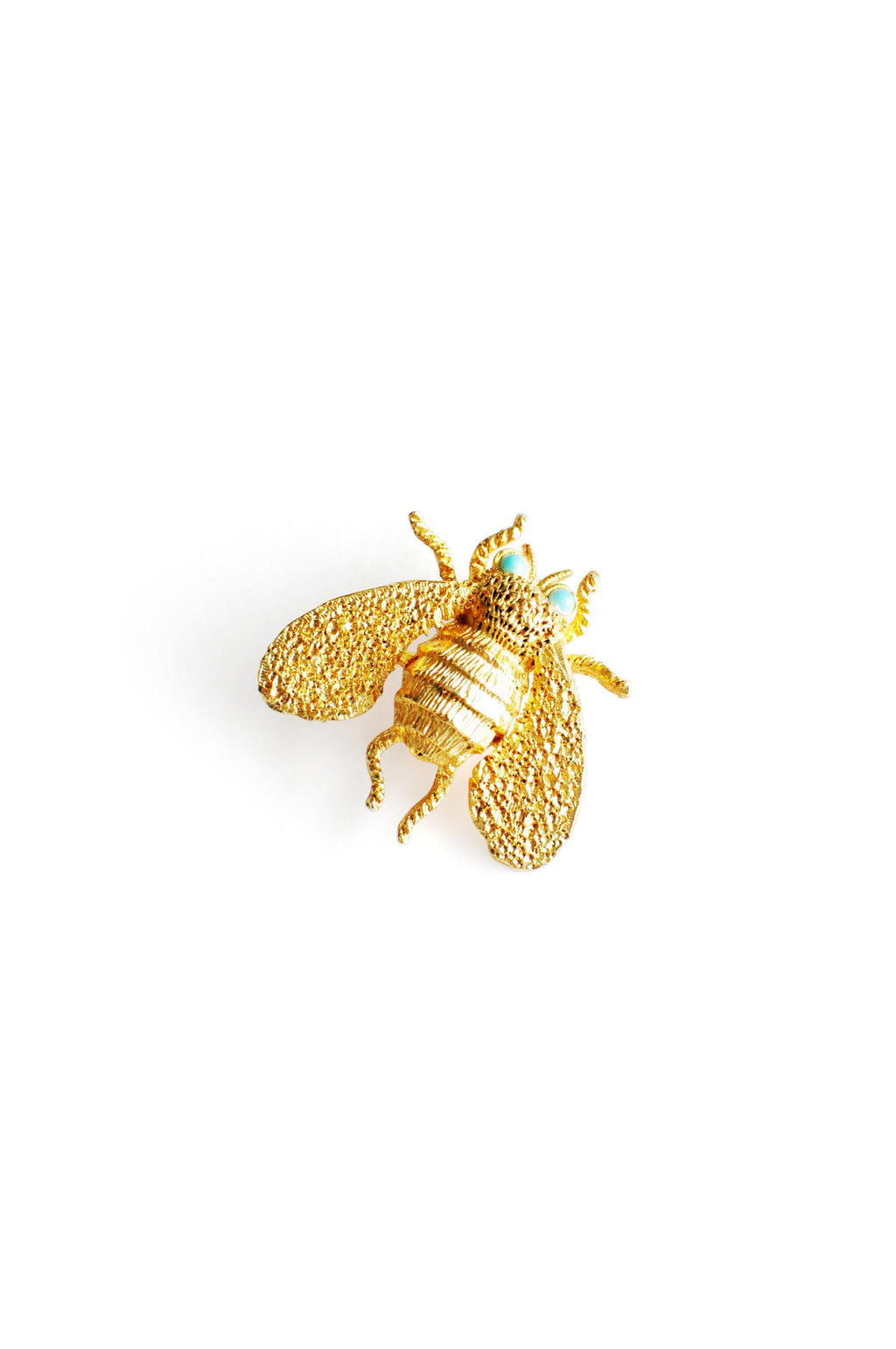 Textured Bee Brooch