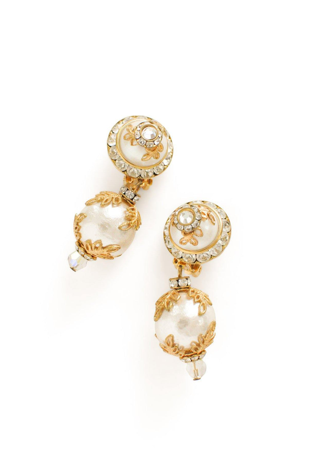 Pearl Bon Bon Clip-on Earrings