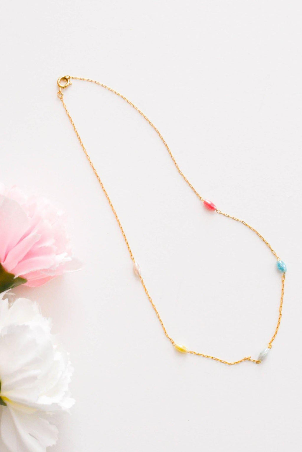 Dainty Beaded Necklace