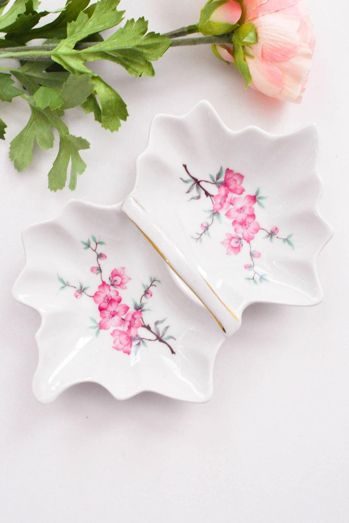 Painted Leaf Tray