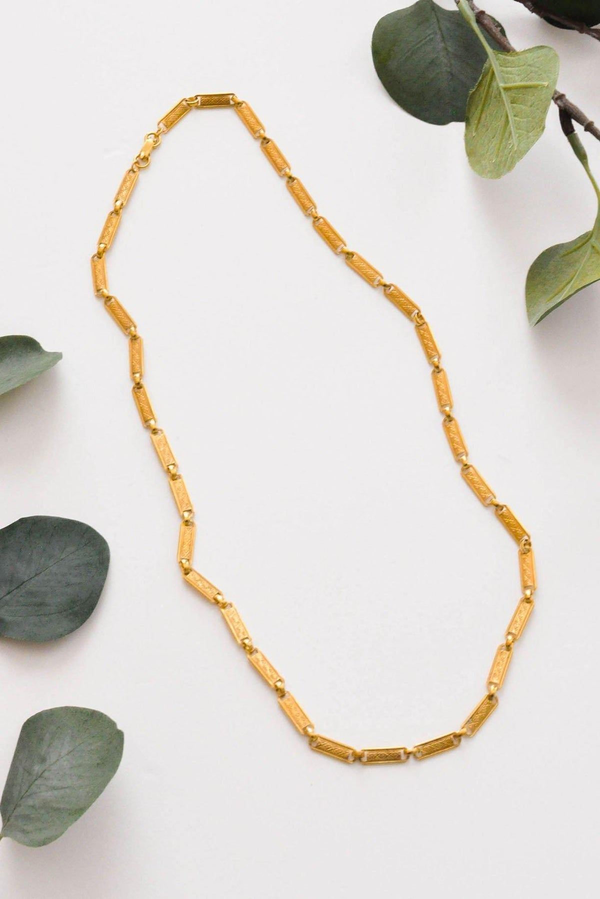 Rectangle Link Necklace - Sweet & Spark