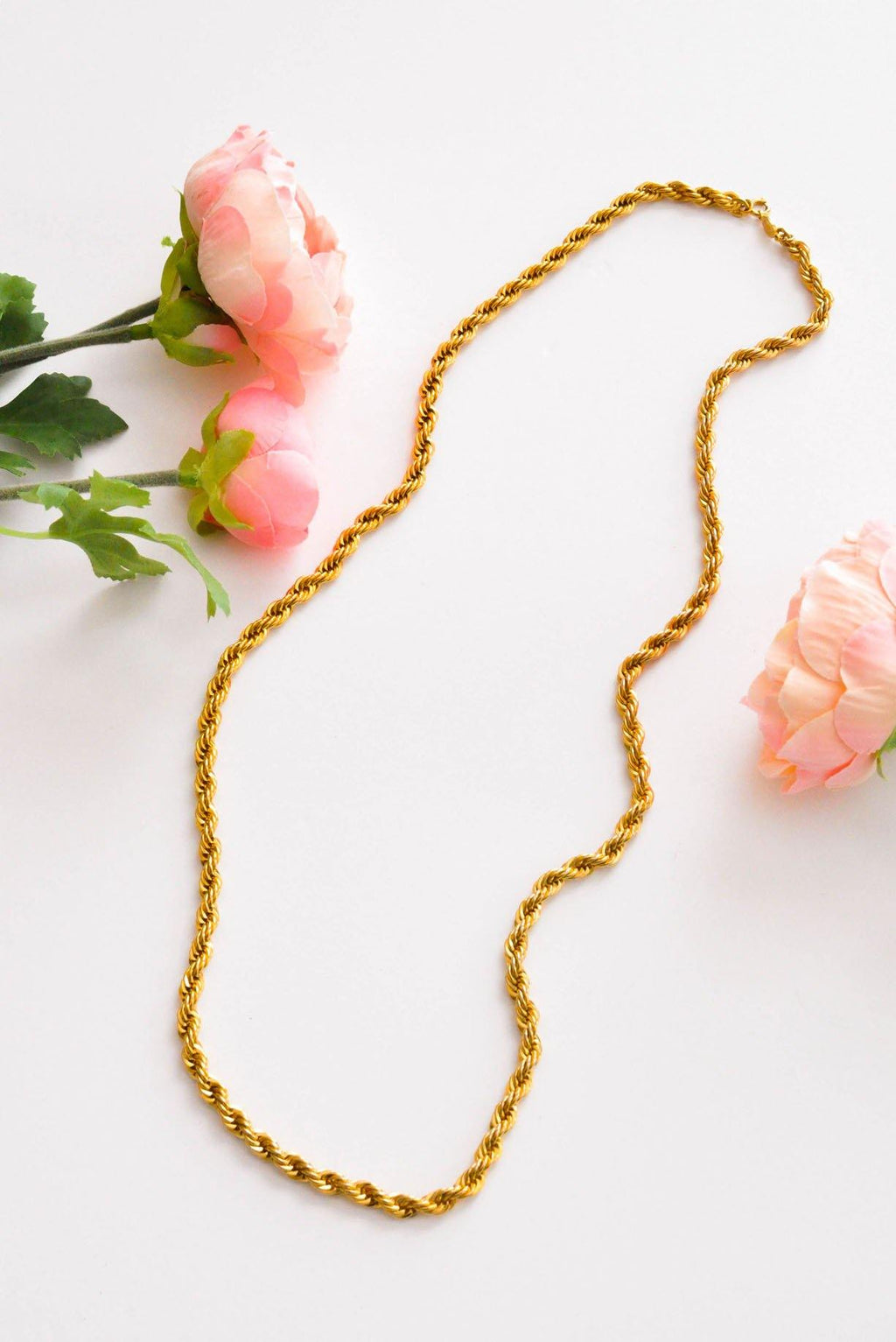 Chunky Rope Necklace