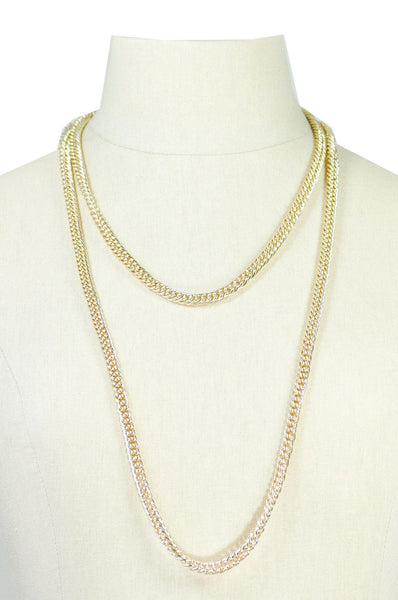 60's__Vintage__Classic Chain Necklace
