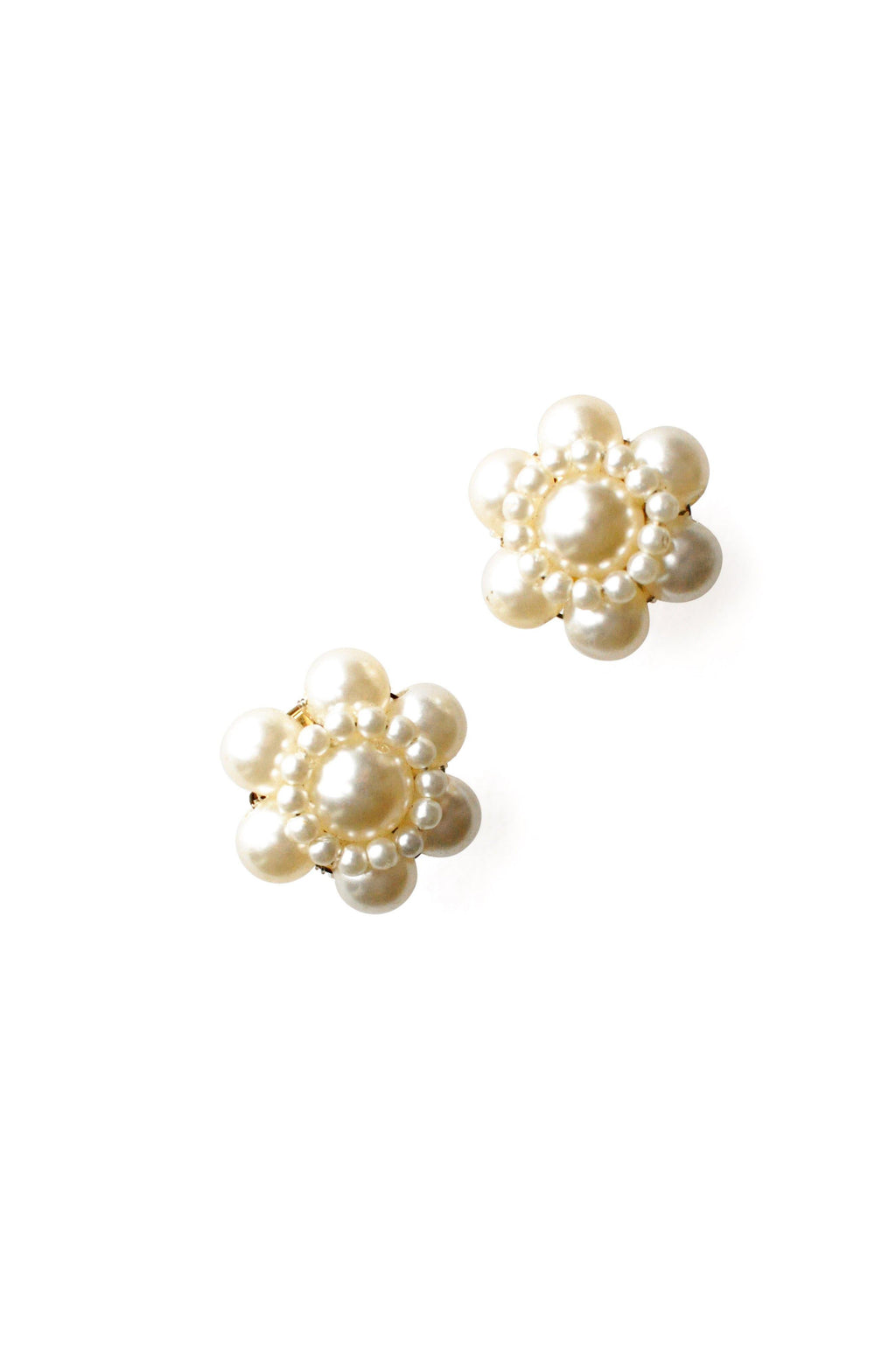 Pearl Stud Pierced Earrings