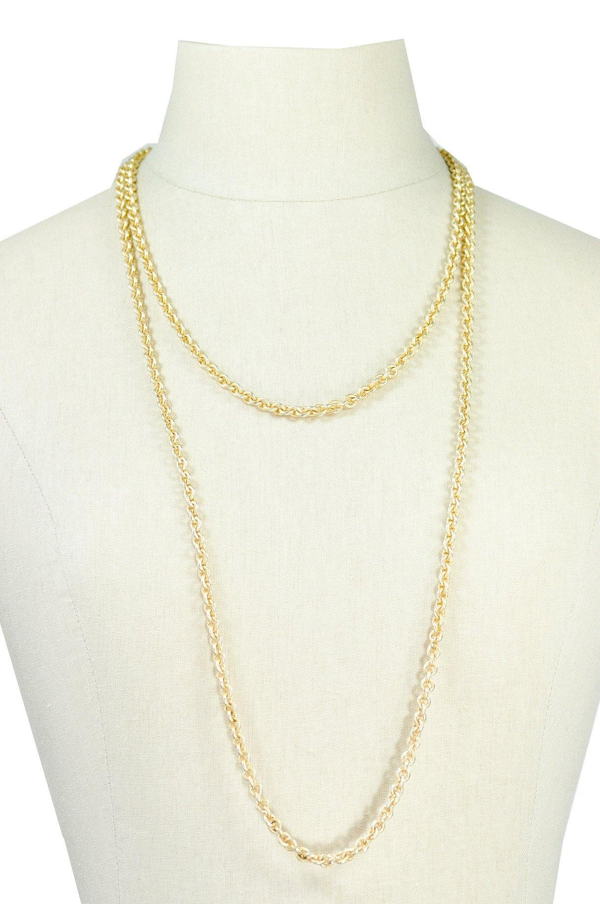 70's__Vintage__Gold Layering Necklace