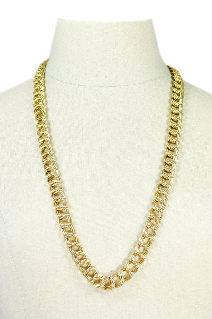 80's__Napier__Classic Chain Necklace
