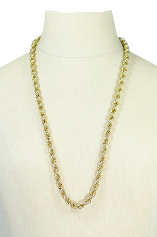 80's__Vintage__Classic Chain Necklace