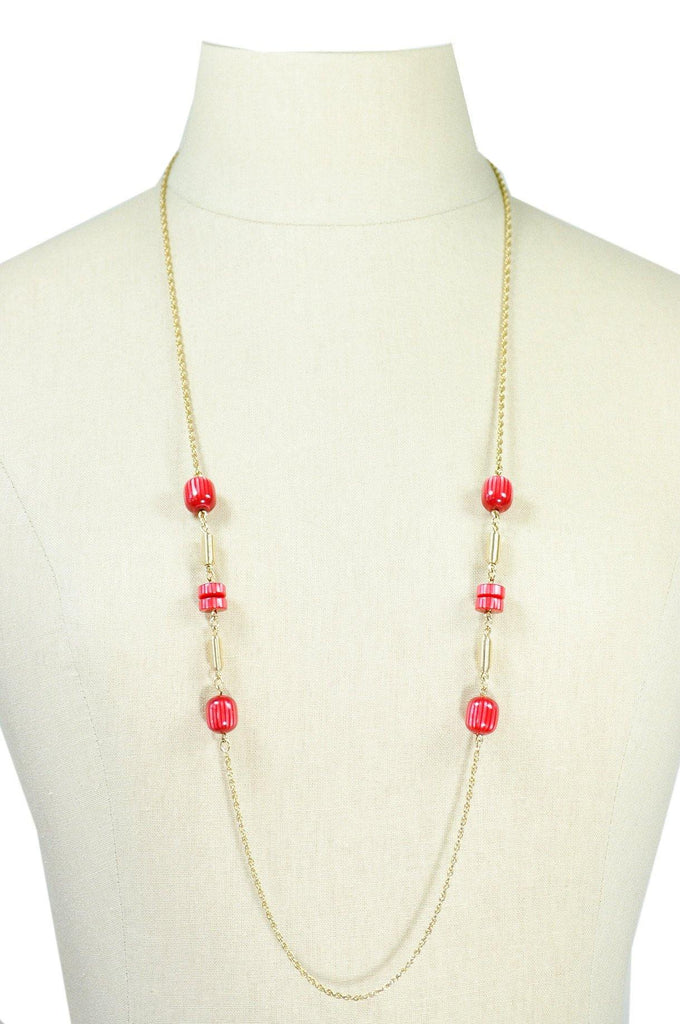 60's__Sarah Coventry__Beaded Layering Necklace