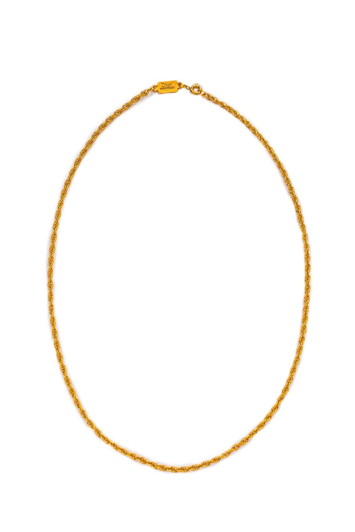 Dainty Rope Chain Necklace - Sweet & Spark