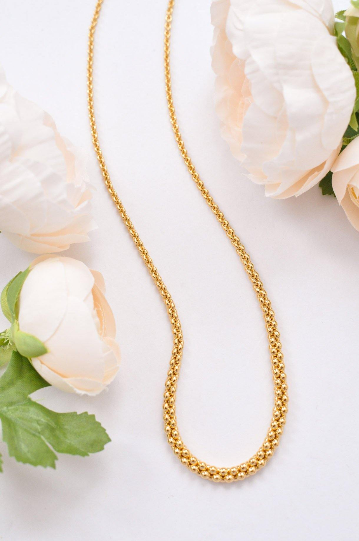 Dainty Graduated Necklace
