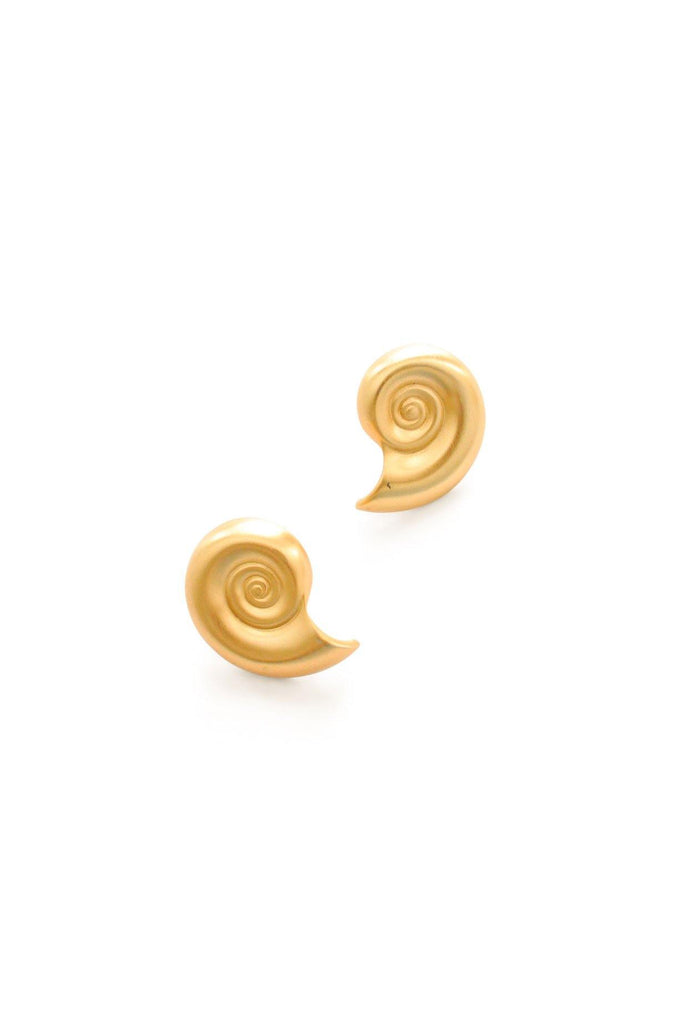 Shell Pierced Earrings