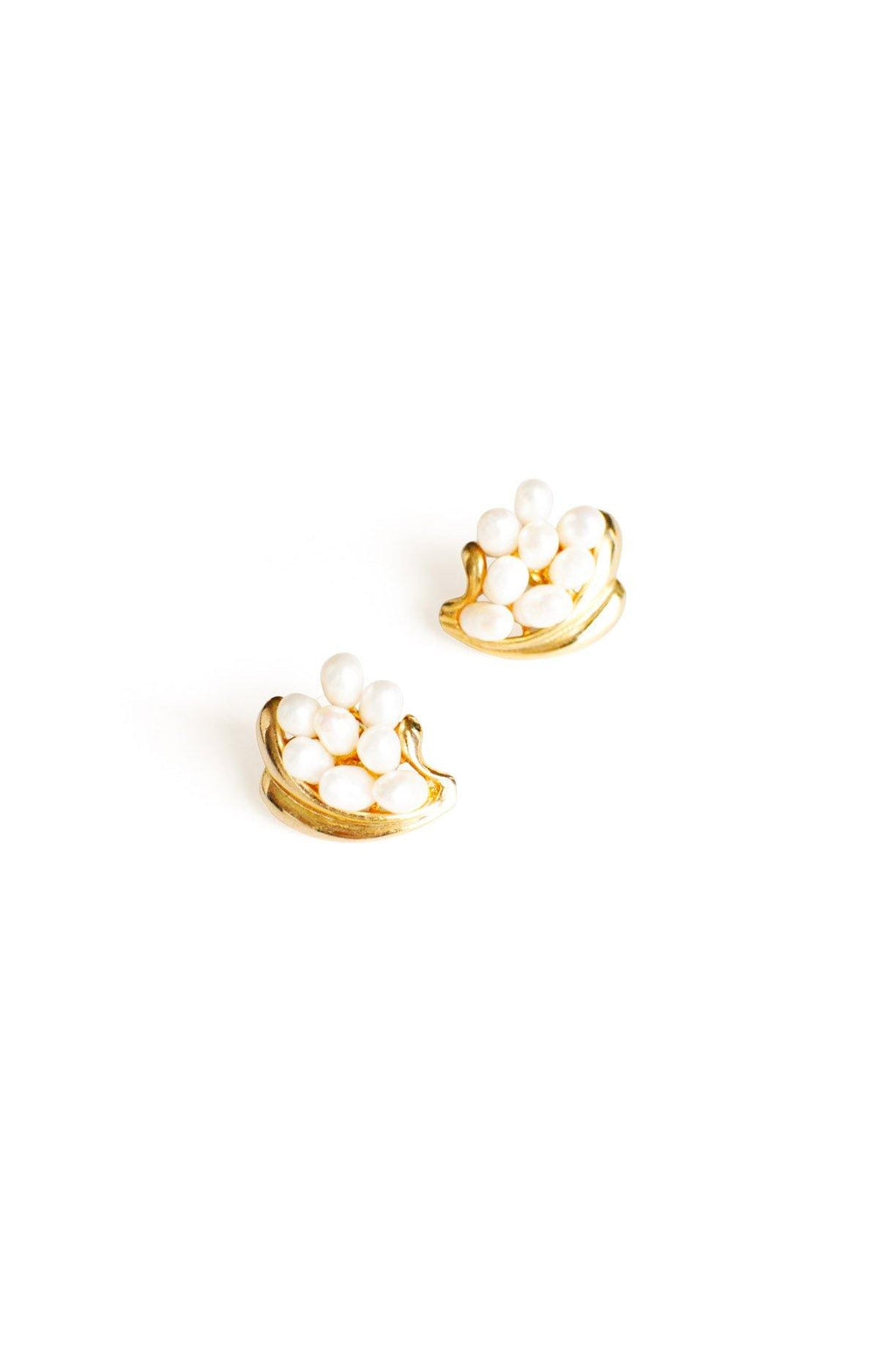 Pearl Pierced Earrings