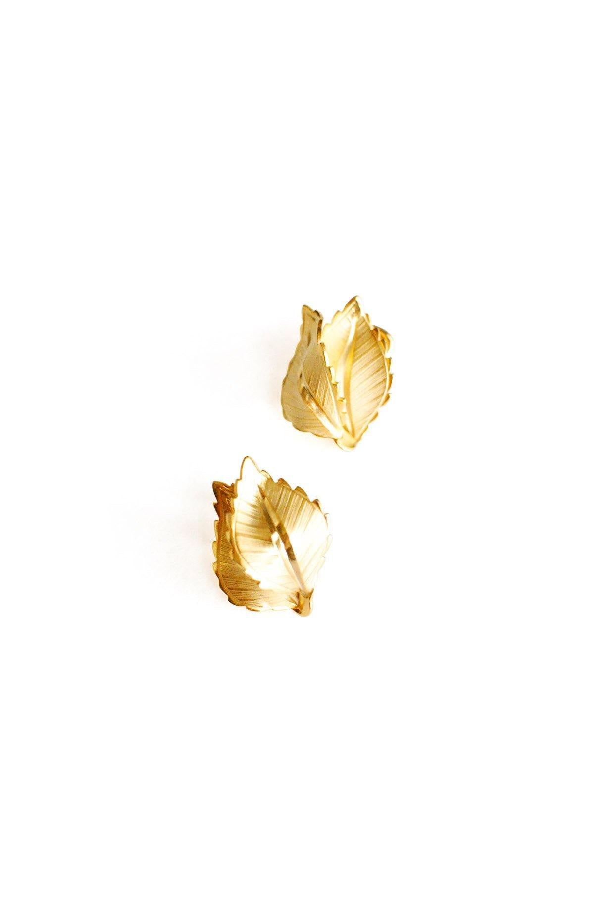 Leaf Clip-on Earrings From Sweet & Spark